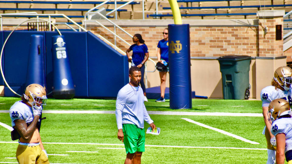 Marcus Freeman: 'The Gold Standard' Notre Dame assistant driven for success