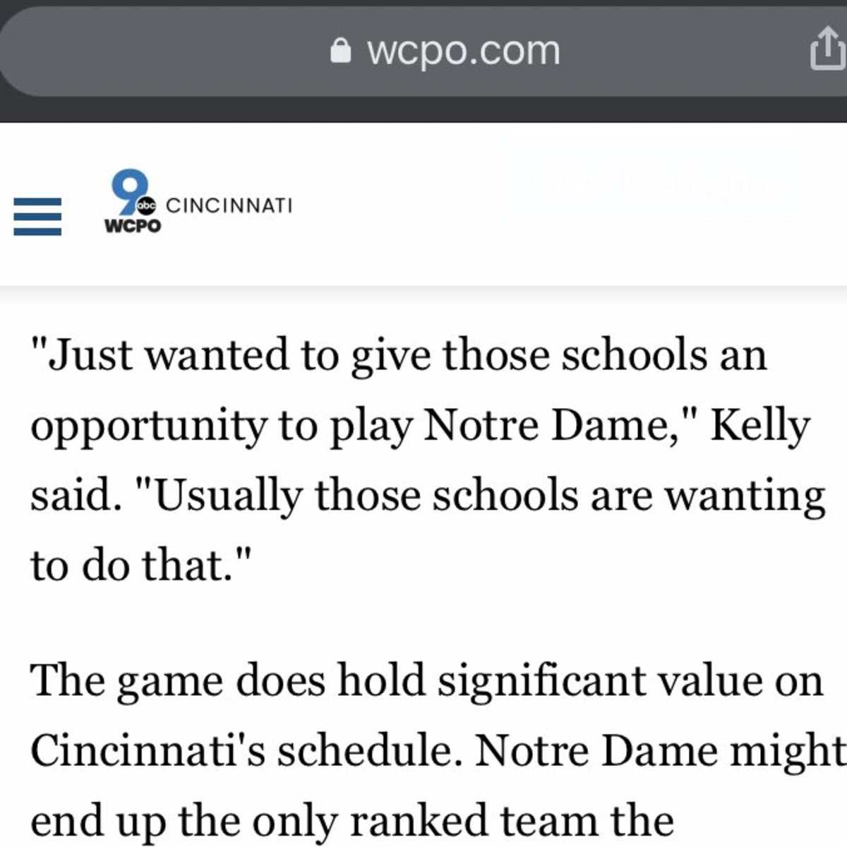 Kelly quote