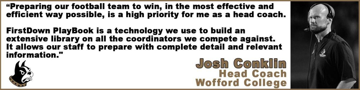 FirstDown PlayBook Josh Conklin