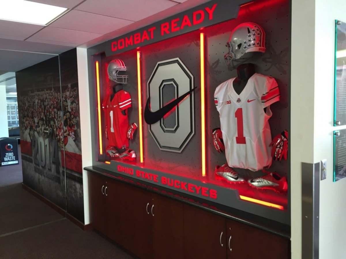 Take A Tour Through Ohio State S Recruiting Room