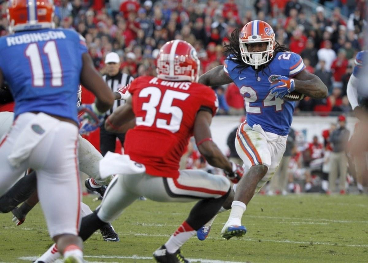 NCAA Football: Florida at Georgia