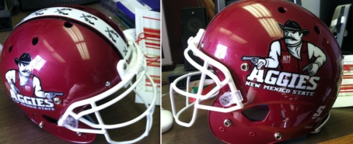 New Mexico State helmet