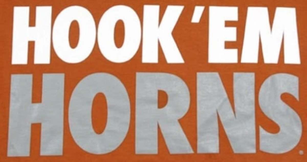 Texas Longhorns wordmark