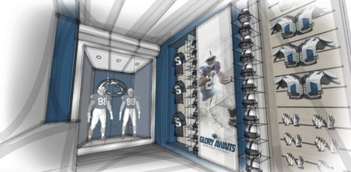 Penn State S Renovations To The Football Facilities Aimed