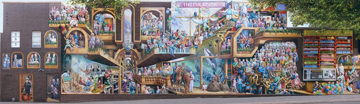 Penn State mural