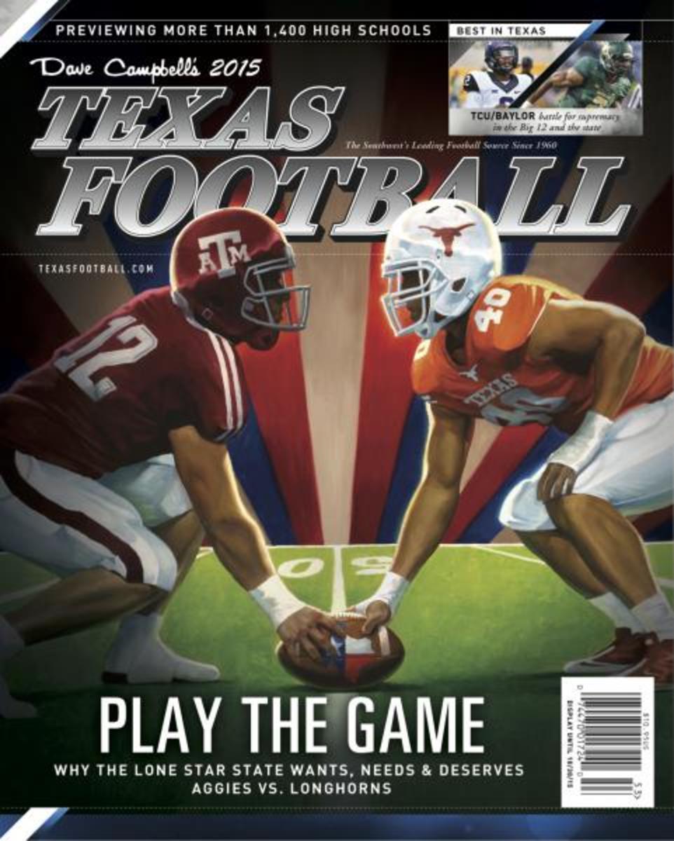 Texas Texas A&M play the game