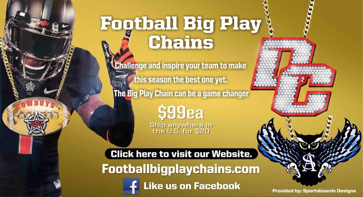 football turnover chains ad 2