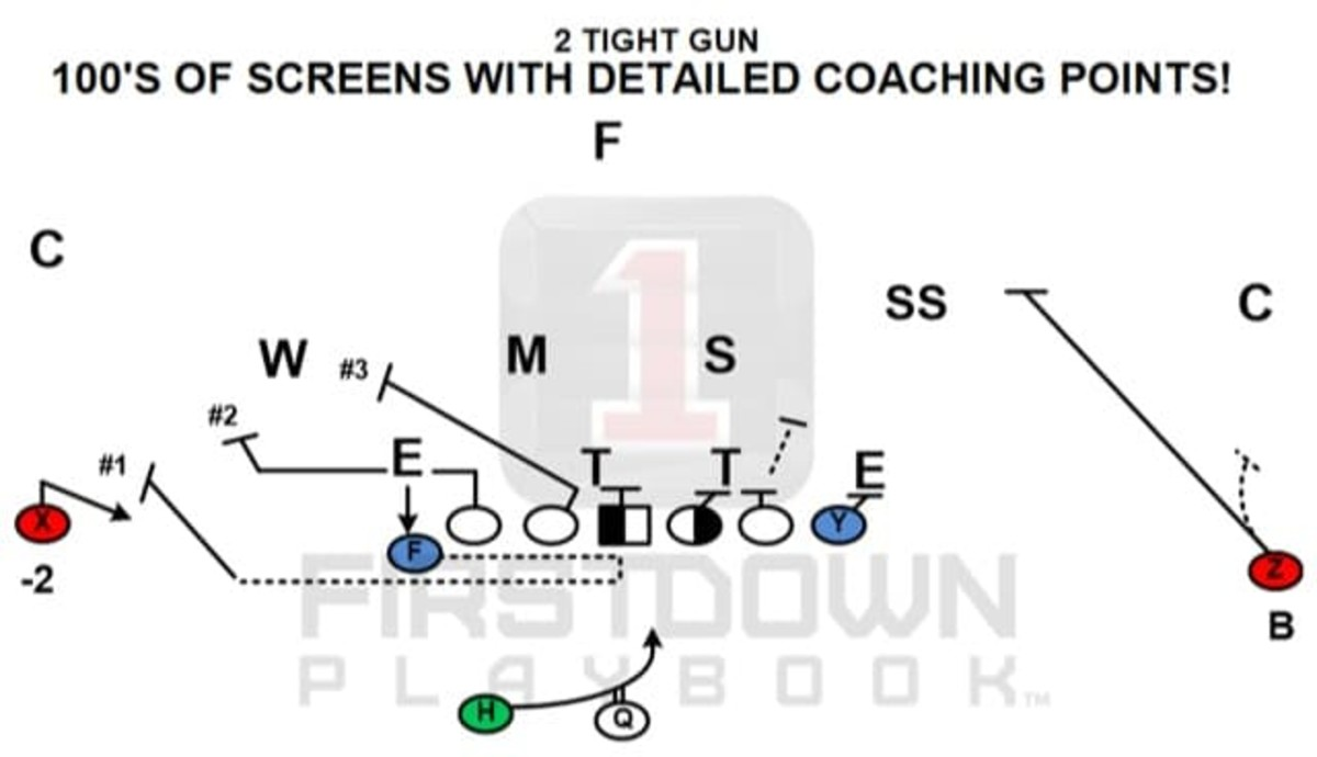 1stdown-100's of Screens with detailed coaching points!