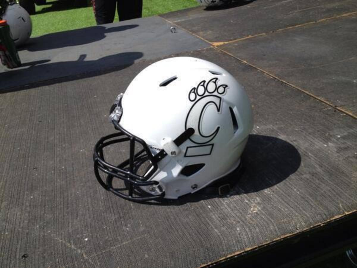 Cincy helmet