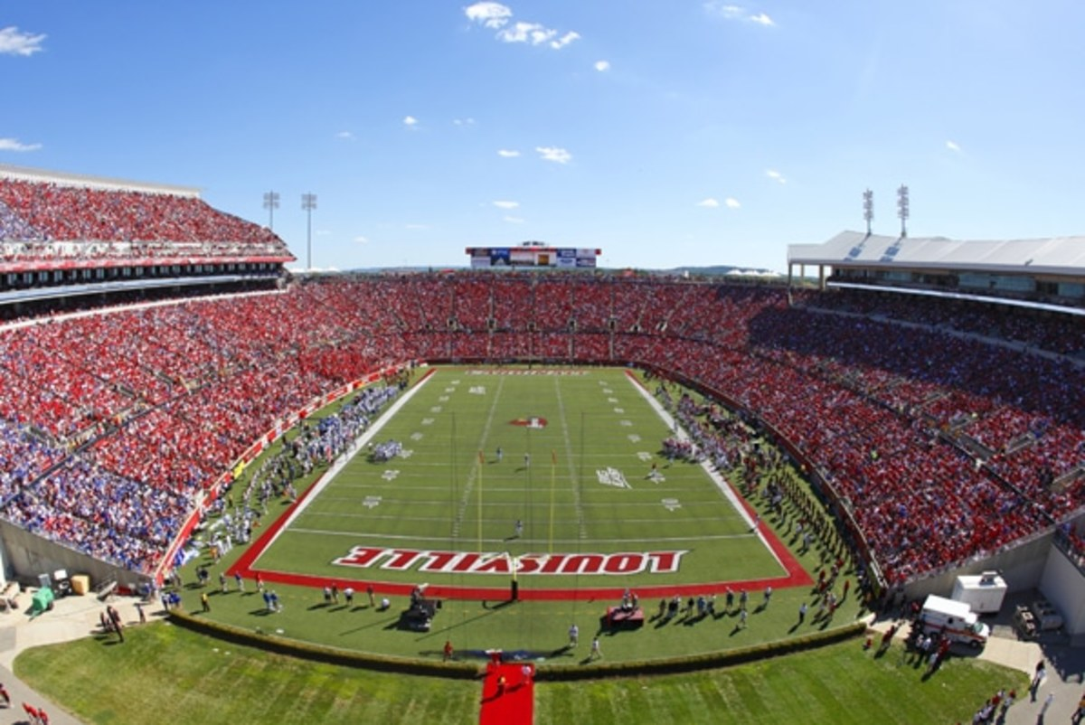 Strong staying as Louisville football coach