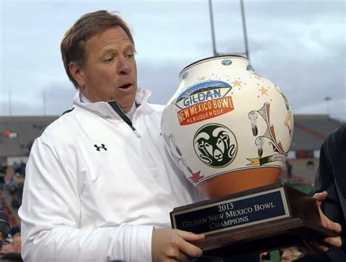 New Mexico Bowl trophy