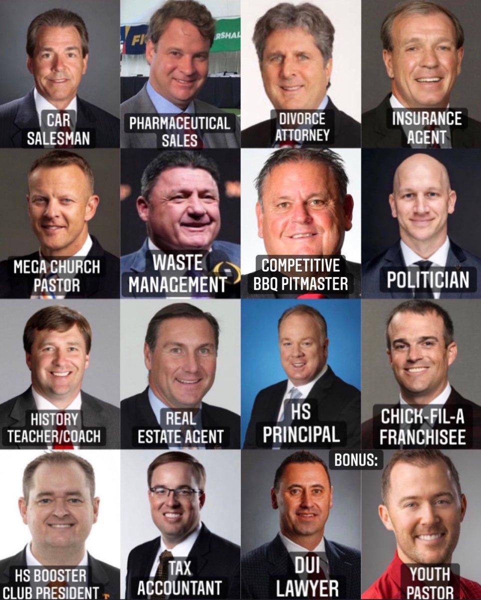 SEC Coaches Jobs